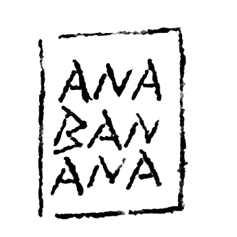 ana banana team stamp signature