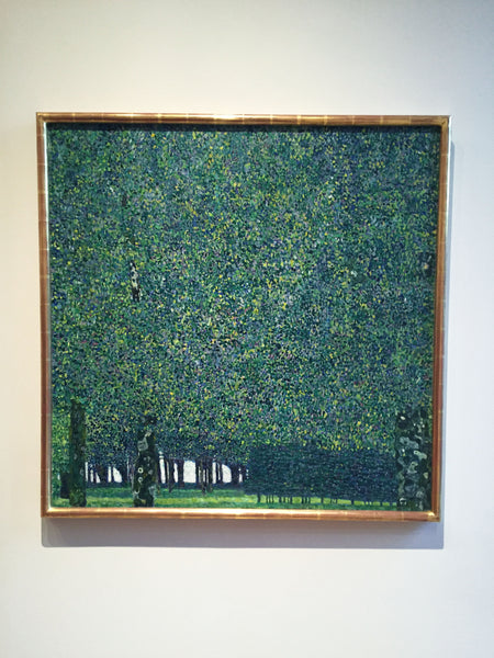 Gustav Klimt the Park Painting at MoMA