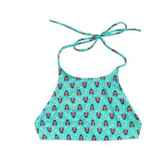 Shark Banana Reversible Halter Top