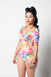 Convertible J'OUVERT Swimsuit - Rich Girl's Closet - 13