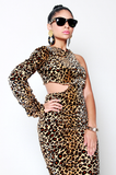 SAMPLE SALE Power of a Woman Leopard Dress - Rich Girl's Closet - 6