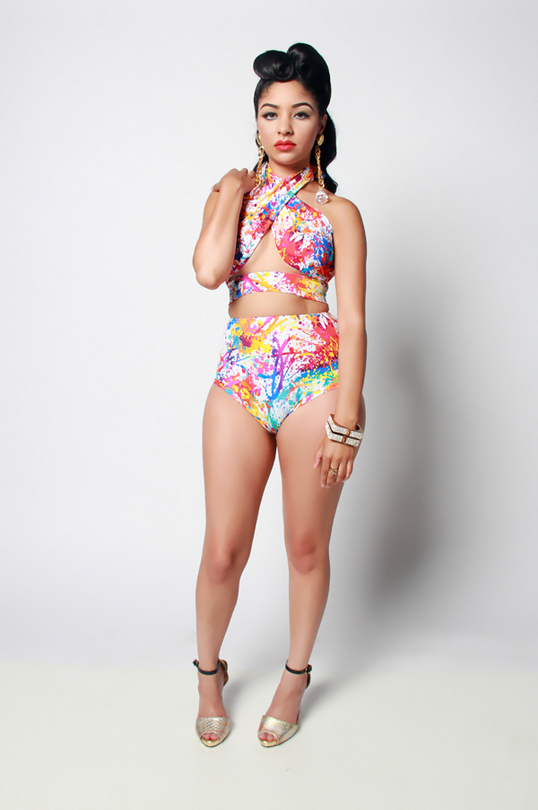 Convertible J'OUVERT Swimsuit - Rich Girl's Closet - 27