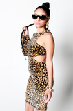 SAMPLE SALE Power of a Woman Leopard Dress - Rich Girl's Closet - 9
