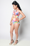 Convertible J'OUVERT Swimsuit - Rich Girl's Closet - 8