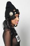 Vintage Royalty Beanie - Rich Girl's Closet