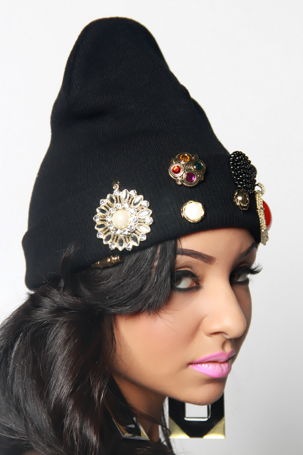 Vintage Royalty Beanie - Rich Girl's Closet - 10