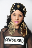 Bad Queens Turban - Rich Girl's Closet