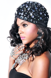 Crave Girl | Blinged Turban - Rich Girl's Closet