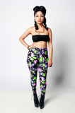 Sample Sale Paint Splatter Leggings - Rich Girl's Closet - 3