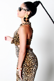 SAMPLE SALE Power of a Woman Leopard Dress - Rich Girl's Closet - 7