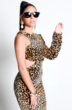 SAMPLE SALE Power of a Woman Leopard Dress - Rich Girl's Closet - 8