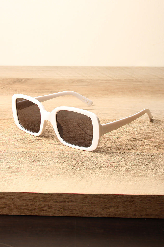 Retro Square Frame Sunglasses