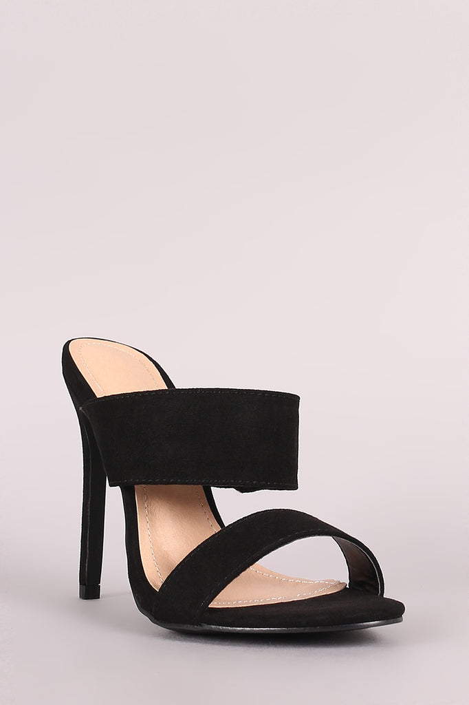 Liliana Double Band Stiletto Heeled Mules