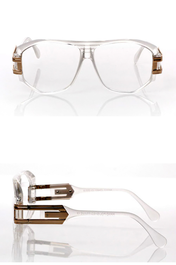 Vintage Clear Gold Aviators - Rich Girl's Closet - 6