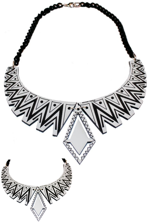 Tribal Collar II Necklace - Rich Girl's Closet