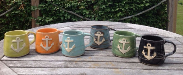 Anchor Mug -  - Poterie Ginette Arsenault - 1