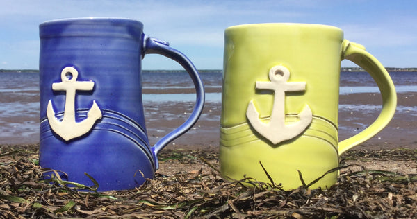Anchor beer mug
