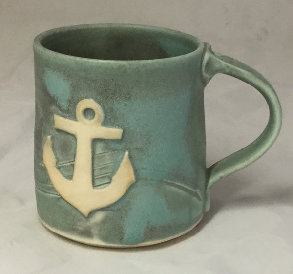 Anchor Mug -  - Poterie Ginette Arsenault - 9