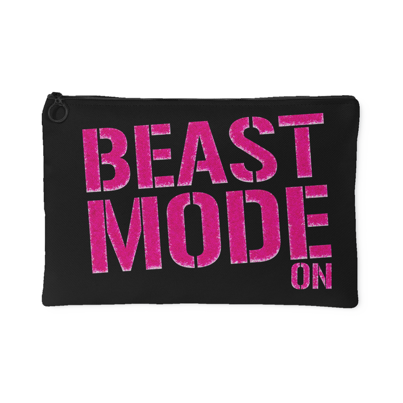 Beast Mode On Accessory Pouch - 2 sizes