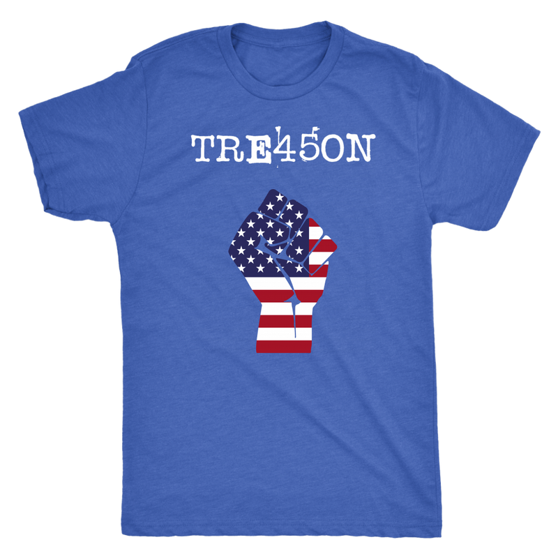 TRE45ON RESIST FIST Political T-Shirt