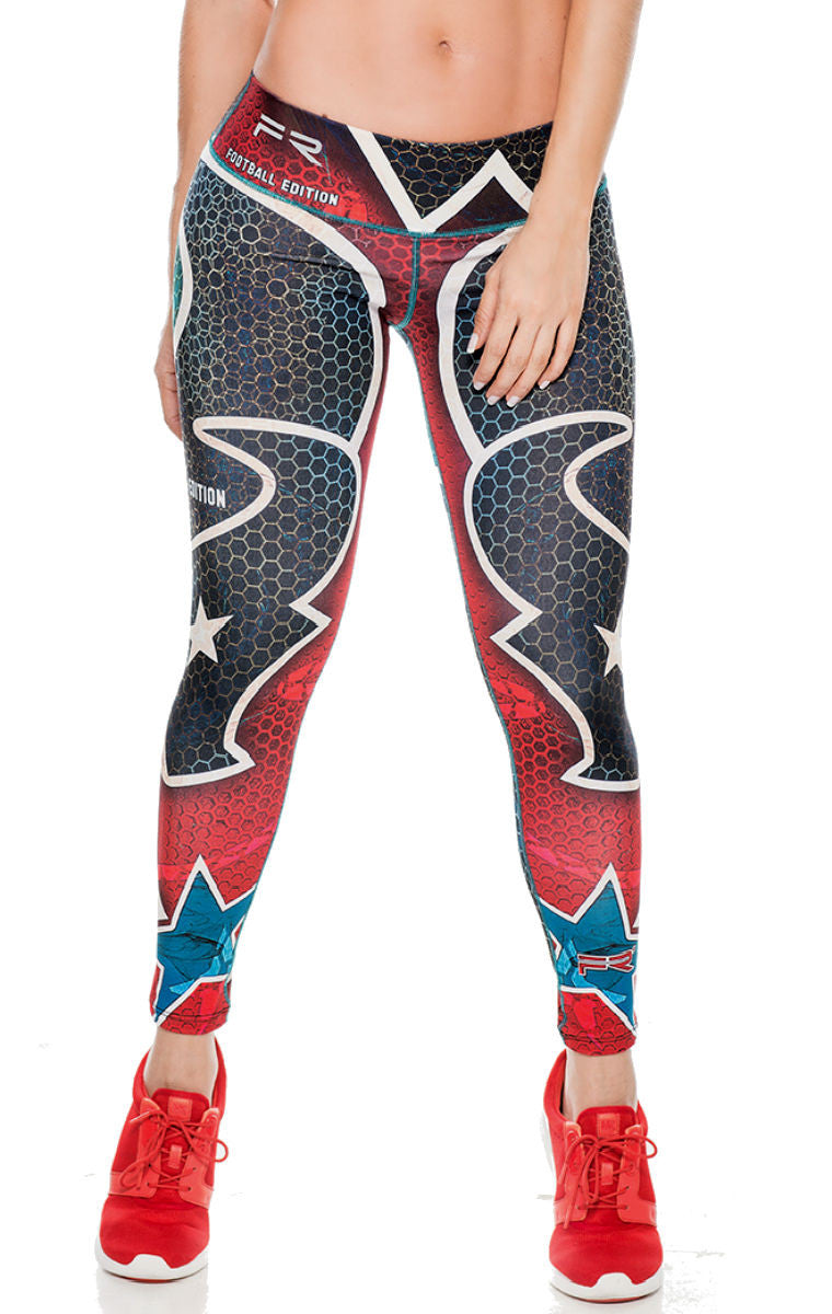 Fiber - Houston Texans Leggings - Roni Taylor Fit  - 1