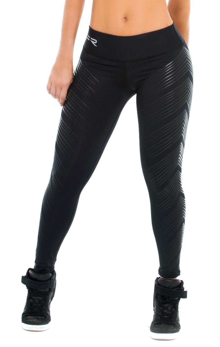Fiber -  Black Silicon Leggings