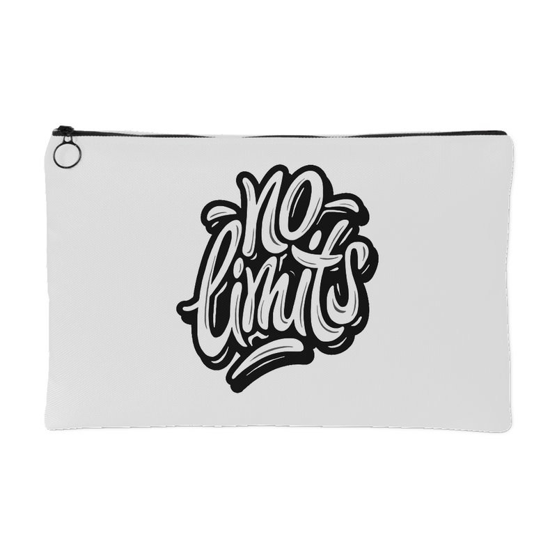 No Limits Accessory Pouch (White) - 2 Sizes