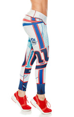 Fiber - New York Giants Leggings - Roni Taylor Fit  - 2