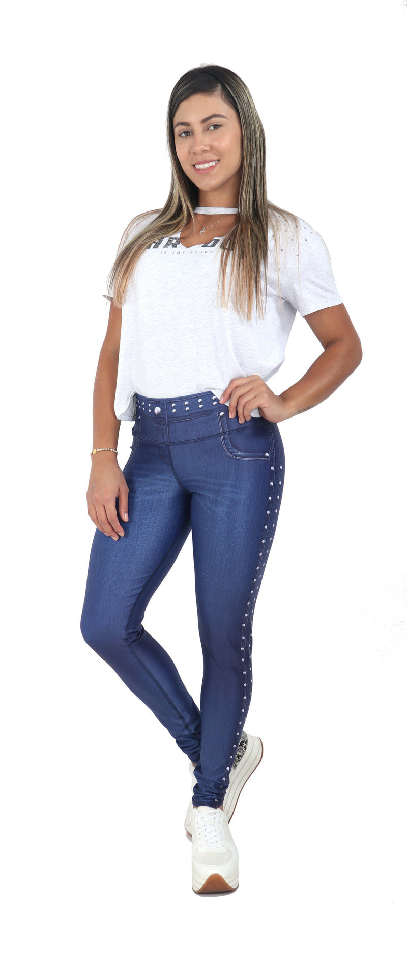 FP - Night Out Blue Jean Leggings