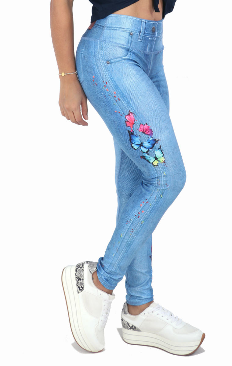 FP - Papillon Jean Leggings