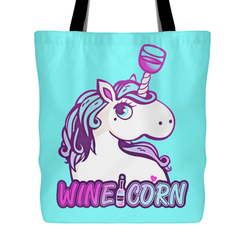 Wineicorn Tote - 4 Colors
