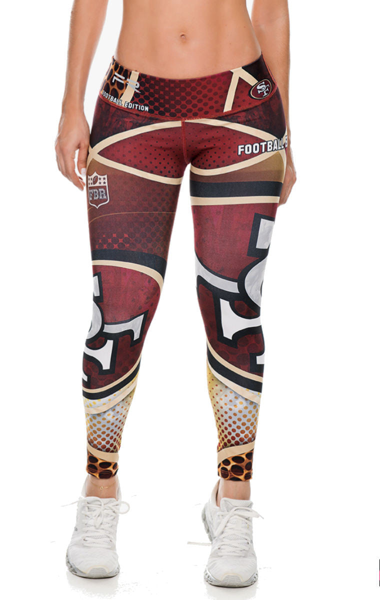 Fiber - San Francisco 49'ers Leggings - Roni Taylor Fit  - 1