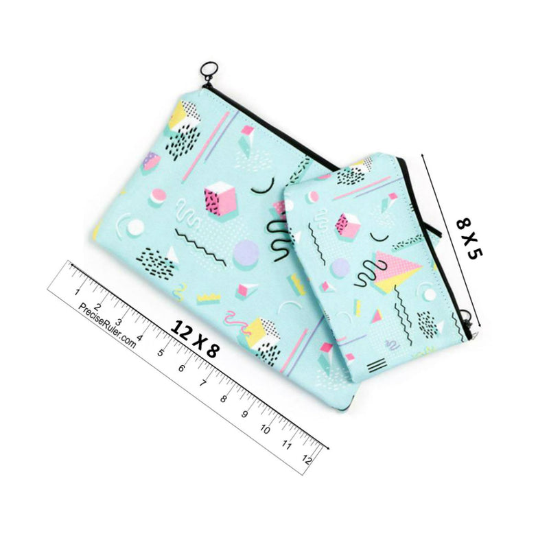 Talk Nerdy To Me  Accessory Pouch (Black) - 2 sizes