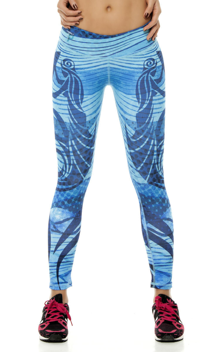 Zodiac - Aquarius Astrology leggings - Roni Taylor Fit  - 3