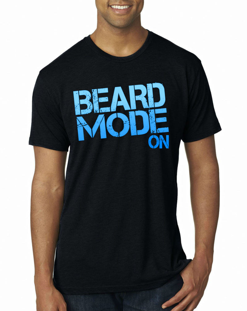 Beard Mode On Men's T-Shirt
