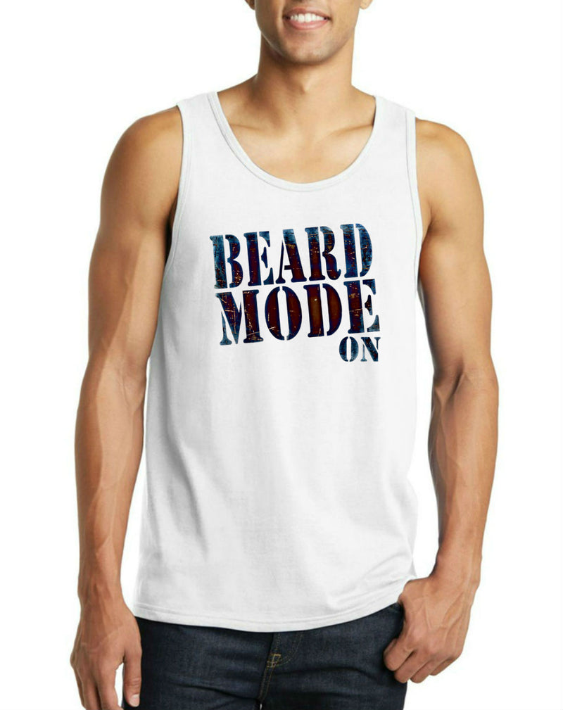 Beard Mode On Men's Tank Top
