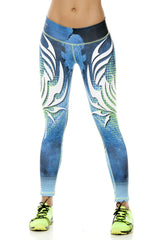 Zodiac - Cancer Astrology leggings - Roni Taylor Fit  - 1