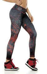 Zodiac - Capricorn Astrology leggings - Roni Taylor Fit  - 3