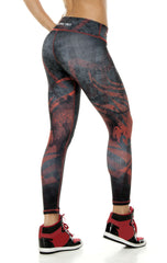 Zodiac - Capricorn Astrology leggings - Roni Taylor Fit  - 2