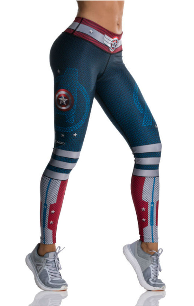 Drakon - Captain America Leggings