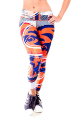 Fiber - Chicago Bears Leggings - Roni Taylor Fit  - 1