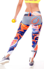 Fiber - Chicago Bears Leggings - Roni Taylor Fit  - 3