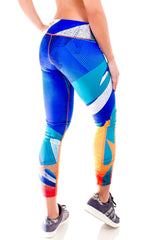 Fiber - Miami Dolphins Leggings - Roni Taylor Fit  - 2