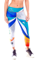 Fiber - Miami Dolphins Leggings - Roni Taylor Fit  - 1