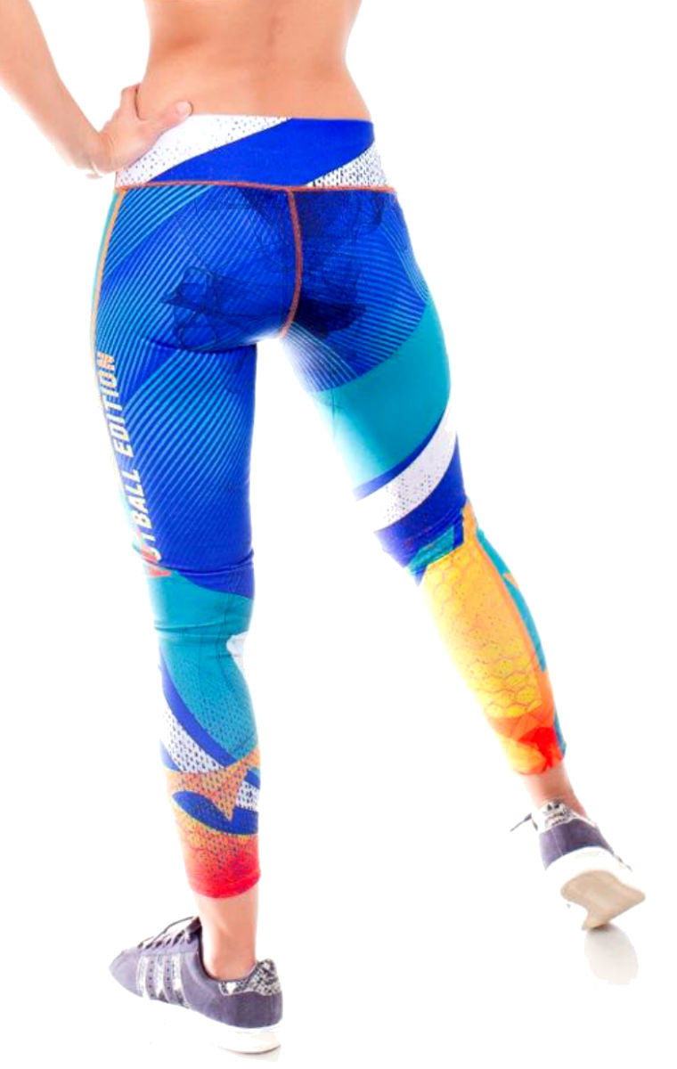 Fiber - Miami Dolphins Leggings - Roni Taylor Fit  - 3