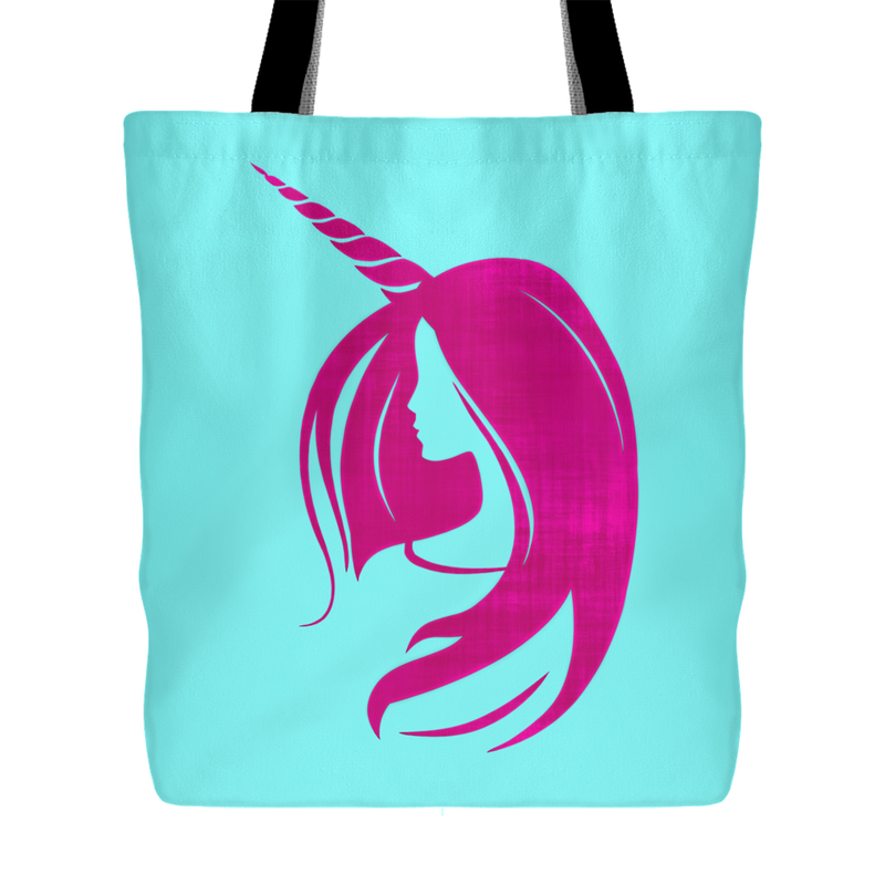 Unicorn Woman Tote -  3 Colors