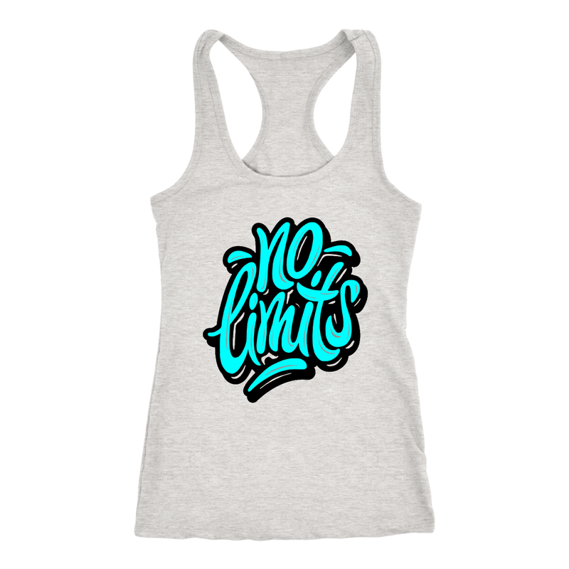 No Limits (Aqua) Tank Top