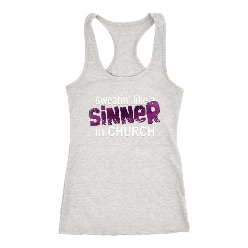Sweatin Like a Sinner in Church Tank Top