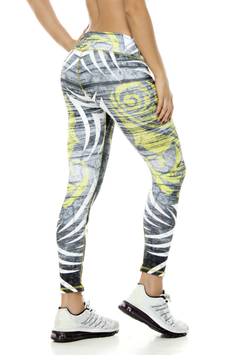 Zodiac - Gemini Astrology leggings - Roni Taylor Fit  - 2