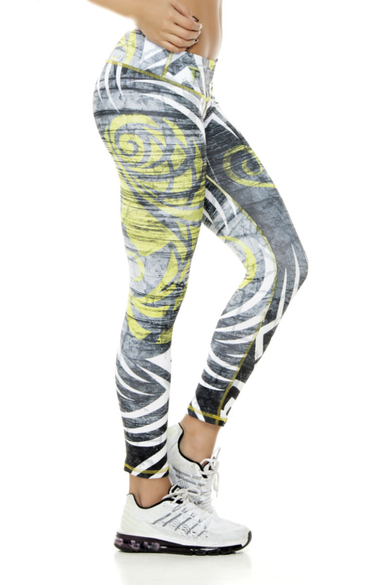 Zodiac - Gemini Astrology leggings - Roni Taylor Fit  - 3